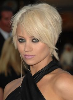 pixie cut with long bangs | Pixie Haircuts with Side Swept Bangs | Popular Haircuts | best stuff