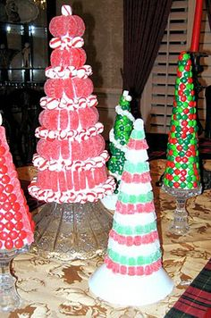 DIY::Candy Trees