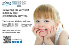 Delivering the very best in #family care and specialty services. #healthad #tetonvalley #driggs #clinic