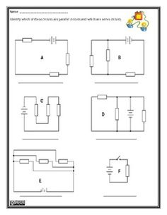 Parallel and Series Circuits Worksheet