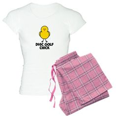 I'ma disc golf chick!  <3 these jammies! #discgolf #nh