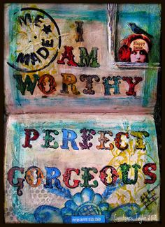 Who Am I -- part one (journal ) by constancetaylor, via Flickr