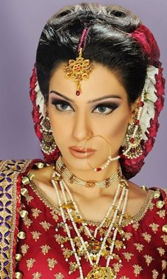 Pakistani bridal #pakistan #asian #style #bride