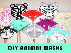DIY Animal Masks: DIY Halloween DIY Costumes: DIY Animal Masks