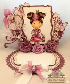 DT #Eva Grosk created this special piece with Aristocrat Avery