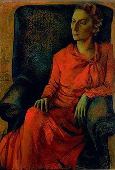 Tchelitchew, Pavel (1898-1957) - 1931 Maude Stettiner (Hirshhorn Museum and Sculpture Garden, Washington, DC)