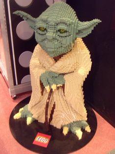 geek, lego yoda, star war, stuff, lego art, lego creation, legos, board, thing