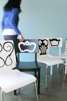 Vinyl Decals for chairs
