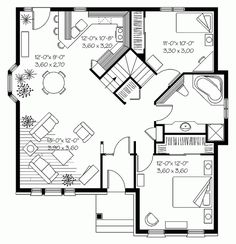 Small House Plan Approx Sq Ft br   Free Online Image House        Small House Floor Plans Under Sq FT on small house plan approx sq ft