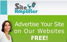 SiteAmplifier  / By participating SiteAmplifier Internet community, you expose your site to many new Internet users