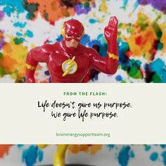 ⚡Wise words from The Flash! ⚡#TBiTalk #MondayMotivation #quoteoftheweek #purpose #empowerment