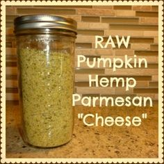 Absolutely delicious raw, vegan parmesan alternative. I sprinkle it on everything and sometimes I eat it right out of the jar with a spoon. That's how good it is. And simple to make, too. Click the link for the recipe!