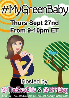 MyGreenBaby Twitter Party 9/27