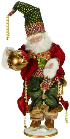 Mark Roberts Santa - Dressed to the 9s Santa