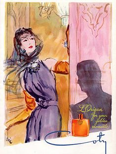 perfume coty vintage ad  | Coty- L'Origan (Vintage Perfume) | The Non-Blonde