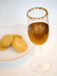 Coctel de galleta de azúcar. Tequila dessert cocktail. Pair with sugar cookies!
