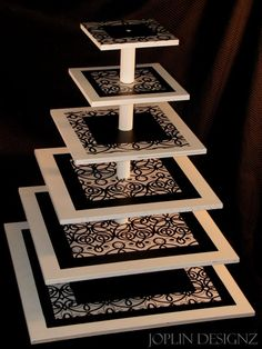 zentangle/paint a DIY stand