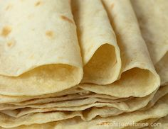 Homemade Flour Tortillas without lard.