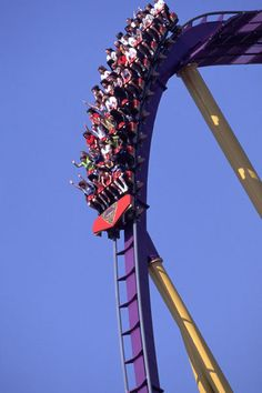 Apollo's Chariot, Busch Gardens, Williamsburg, VA...  the hills at the end are so fun!