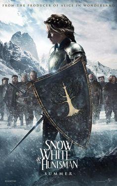 film, movi poster, kristen stewart, book, entertain, wait, favorit movi, huntsman, snow white