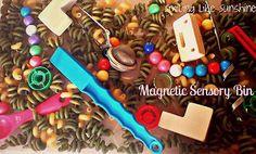 Magnetic #Sensory Bin