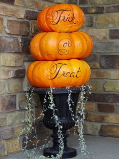 DIY, halloween decor, pumpkins