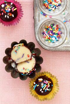 cake batter truffles!