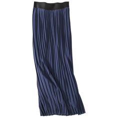$29.99 Merona® Maternity Pleated Maxi Skirt - Assorted Colors