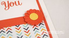 Make a flower with a Scallop Circle punch and your paper scissors!