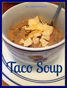 Taco Soup - Adventures of a Jayhawk Mommy