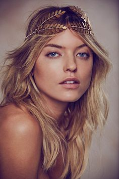 Martha Hunt Charms in Free Peoples Holiday 2013 Shoot