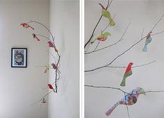 Birds!!!! Love this