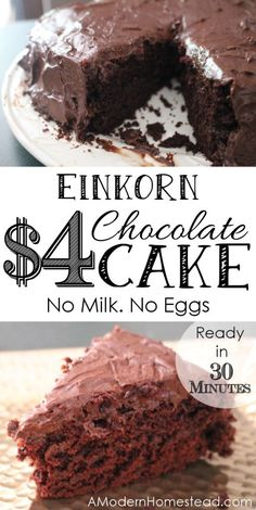 Einkorn $4 Chocolate