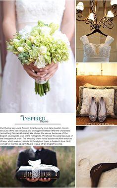 Found some Jane Austen wedding inspiration!