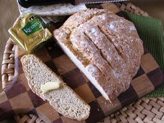 Browned Butter and Cheddar Irish Soda Bread