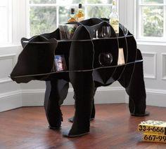 3-D Bear table!