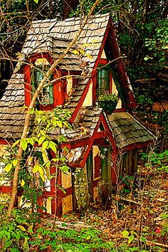 miniatur, faeri hous, cottag, fairi hous, little houses, fairies, fairi garden, fairy houses, fairi magic