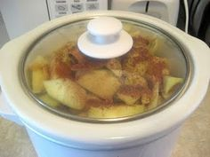Crock Pot Applesauce - no sugar added