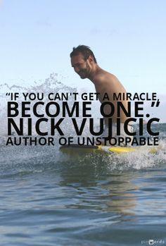 Unstoppable // Nick Vujicic