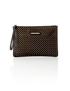 Textured Oversized Pouch from THELIMITED.com #TheLimited