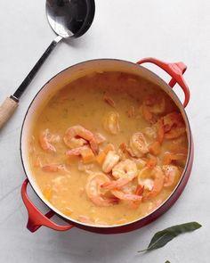 Butternut Squash Soup with Shrimp Recipe
