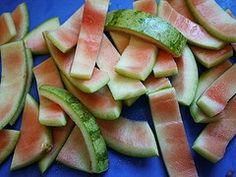 Watermelons, especially the part close to the rind, contain the amino acid citrulline which helps the liver convert ammonia, a by product of protein digestion.