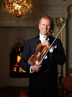 André Rieu - classical violinist and orchestra leader.