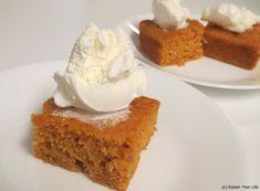 Just 2 ingredients for amazing pumpkin angel food cake