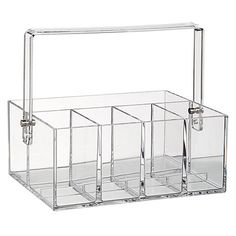 Buy nomess COPENHAGEN Make Up Tool Box, Clear Online at johnlewis.com