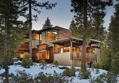 Freedom of Expression - Tahoe's Martis Camp is a showcase for mountain architecture by some of the West's best-known architects