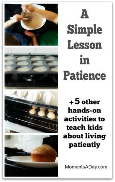 6 Hands-On Activities to Teach Kids About Patience - Moments A Day
