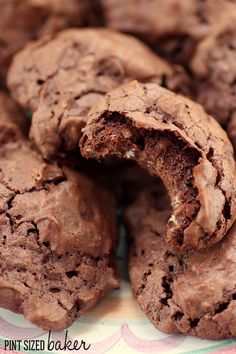 Pint Sized Baker: Chocolate Meringue Pillow Cookies