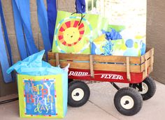 Red Wagon Birthday Party