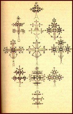 Vintage cross designs